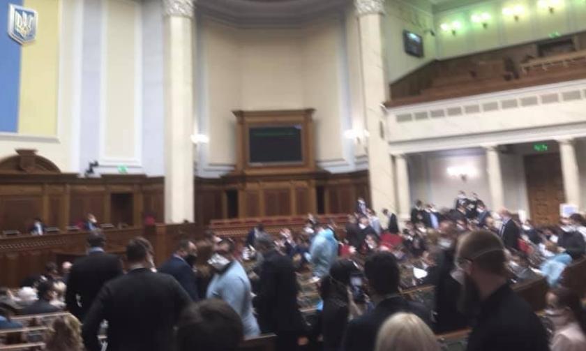 Парламентский позор президента Зеленского